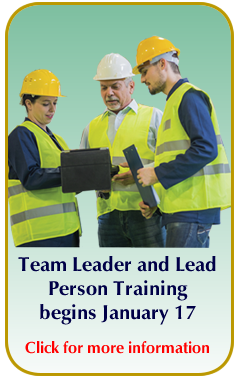 Lead Training Workshop callout