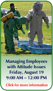 Managing Employees with Attitude Issues Callout