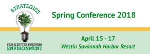 2018 Spring Conference Banner