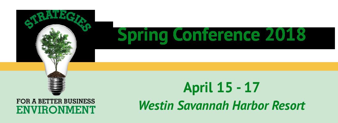 2018 Spring Conference Banner Image