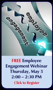 Employee Engagement Webinar Callout