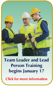 Lead Person Training Callout