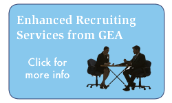 GEA Recruiting Services Graphic