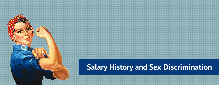 Salary history and sex discrimination masthead image