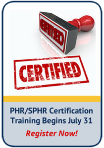 PHR/SPHR Certification Training CTA Image