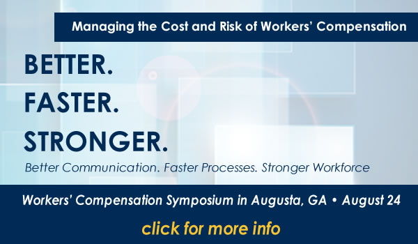Callout for August Workers Compensation Event