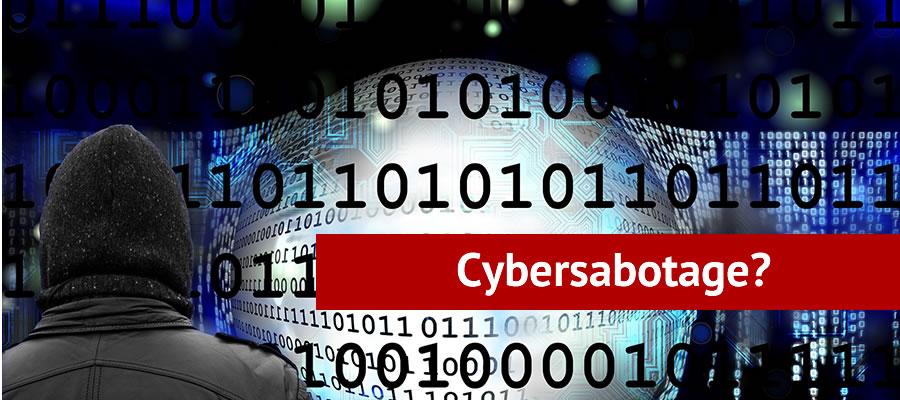 Cybersabotage banner image