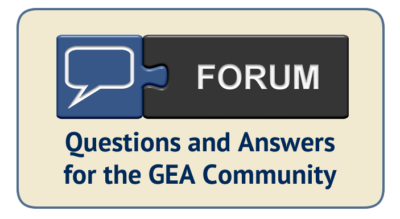 GEA Forum Callout Image