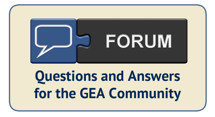 Forum Q and A Graphic