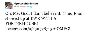 Peter Shankman's Mortons Tweet #2