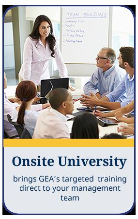 Onsite University Callout