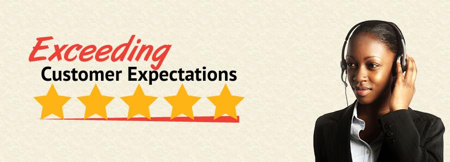 Exceeding Customer Expectations LP Masthead