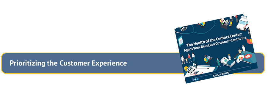 Prioritizing Customer Experience Banner Art