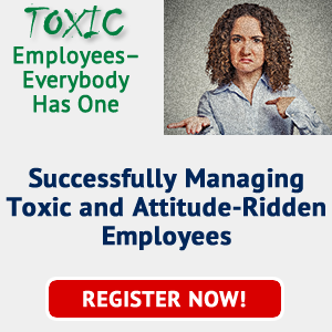 Managing Toxic Employees