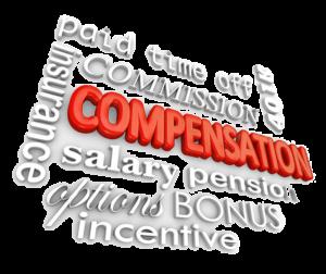 Compensation Word Cloud